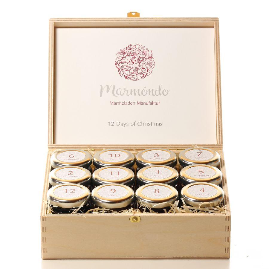 12 leckere Mini-Marmeladen für den süßen Genuss zwischen den Jahren