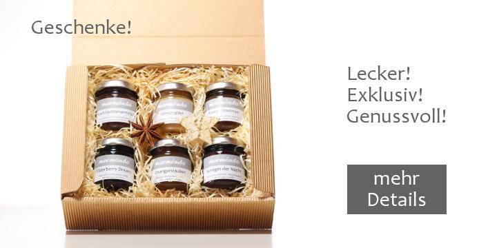 marmondo Geschenke: Schöne Geschenkboxen mit den beliebtesten Sorten