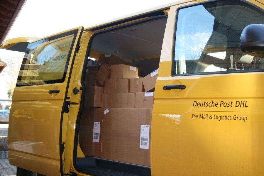 Versand-Service - Sonderabholung durch DHL