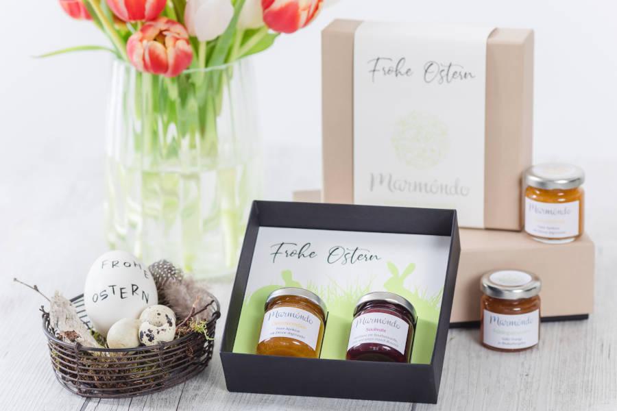 Schöne Geschenkbox zu Ostern