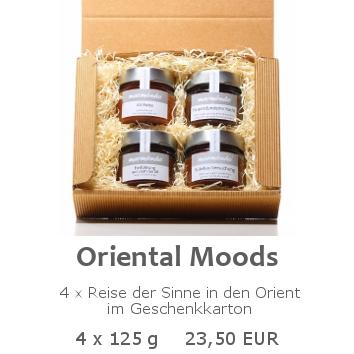 Oriental Moods 4x125g im Geschenkkarton