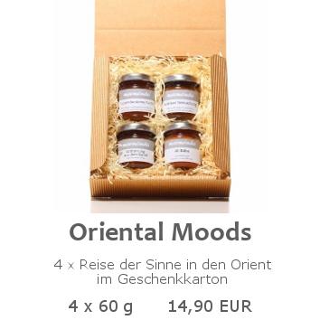 Oriental Moods 4x60g im Geschenkkarton