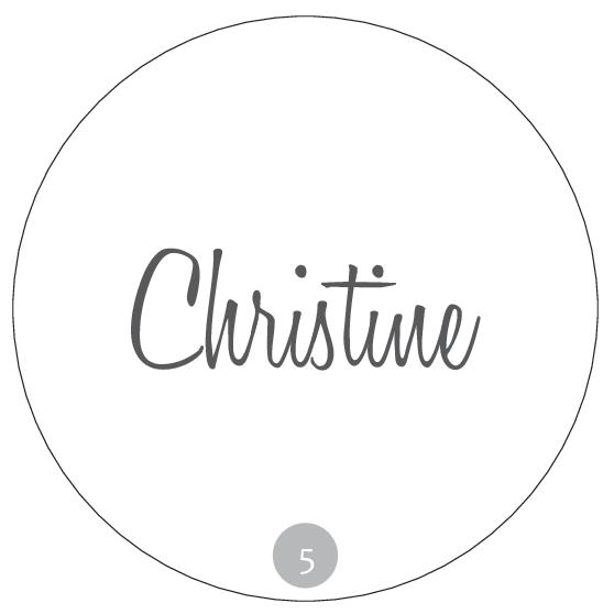Hochzeitsmarmelade Etiketten Deckeletiketten - Beispiel 5