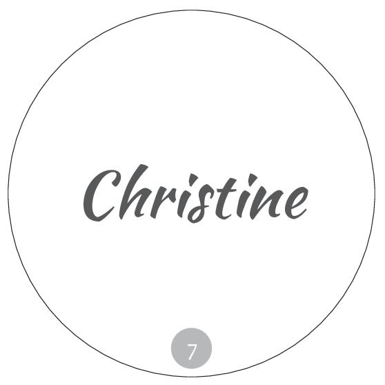 Hochzeitsmarmelade Etiketten Deckeletiketten - Beispiel 7