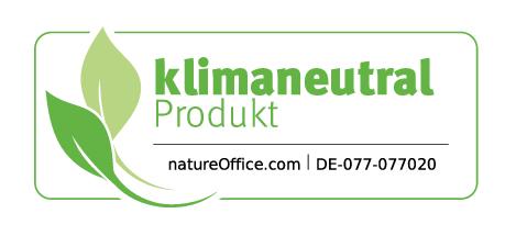 Marmóndo - Logo klimaneutrales Produkt