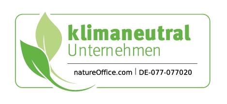Marmóndo - Logo klimaneutrales Unternehmen