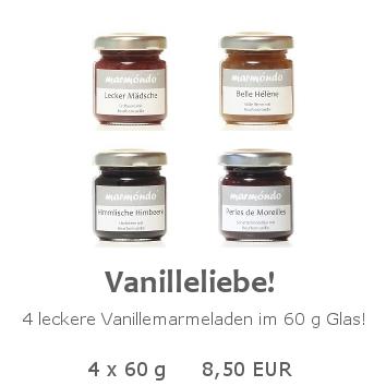 Vanilleliebe 4 x 60 g