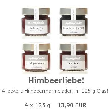 Himbeerliebe 4 x 125 g