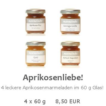 Aprikosenliebe 4 x 60 g