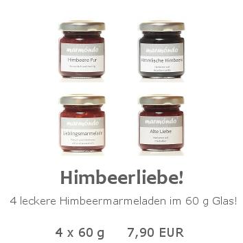Himbeerliebe 4 x 60 g