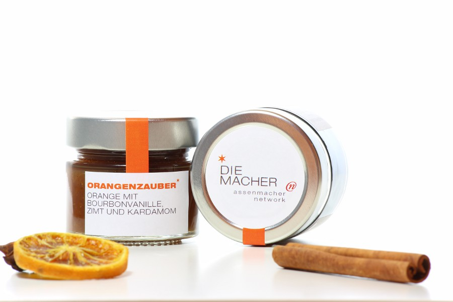 Give Aways mit Marmelade