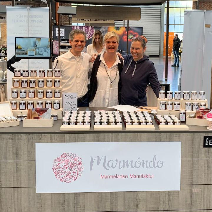 Marmóndo auf der Eat&Style - Ralf, Silke und Helgard