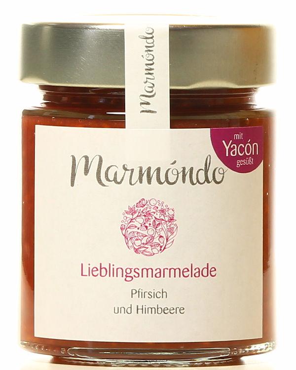 Lieblingsmarmelade - Ein absoluter Bestseller mit Himbeere und Pfirsich (180 g)
