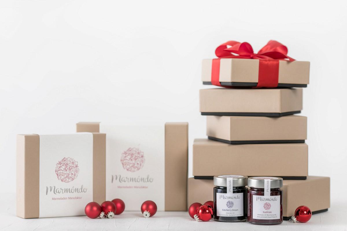 Firmenpräsente Weihnachten: Marmeladen von marmóndo