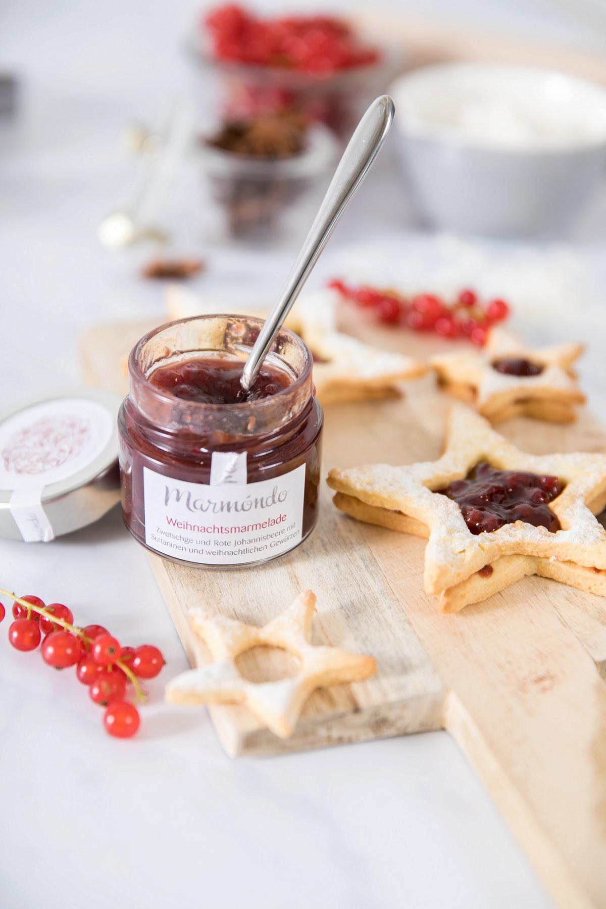 Kleines Weihnachtspräsent für Kunden | marmóndo Marmeladen Manufaktur
