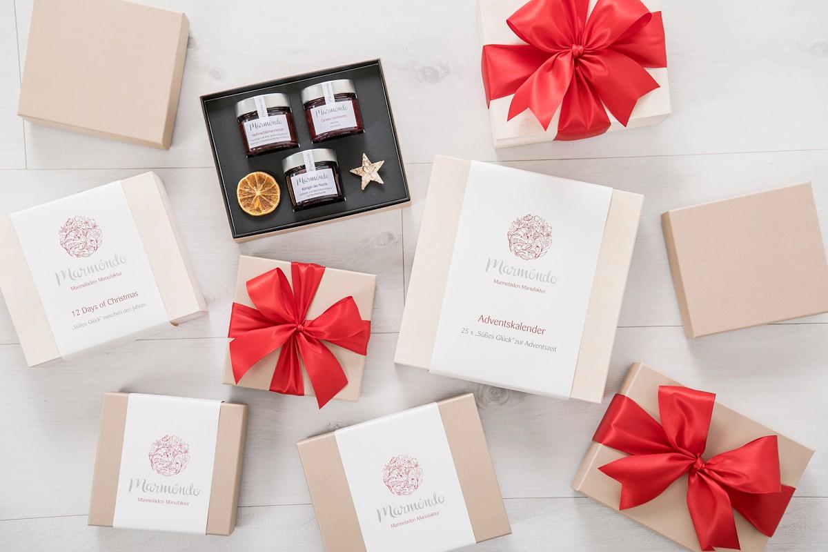 Weihnachtsgeschenke für Kunden: Handgerührte Marmelade von marmóndo