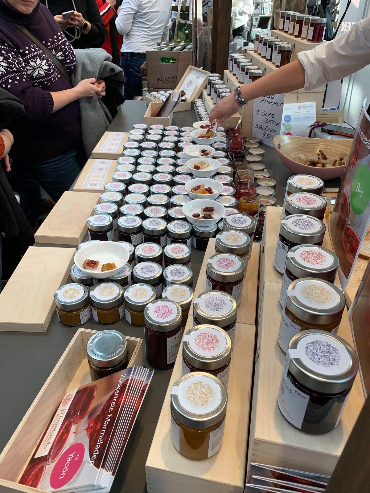 Marmeladen von marmóndo probieren auf der Food-Messe in Düsseldorf