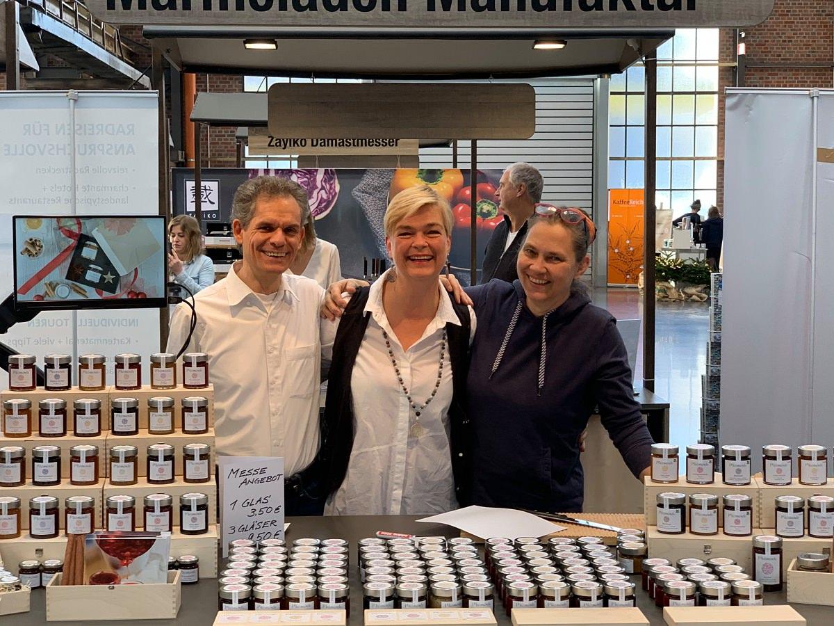 marmóndo auf der Eat & Style Messe Düsseldorf