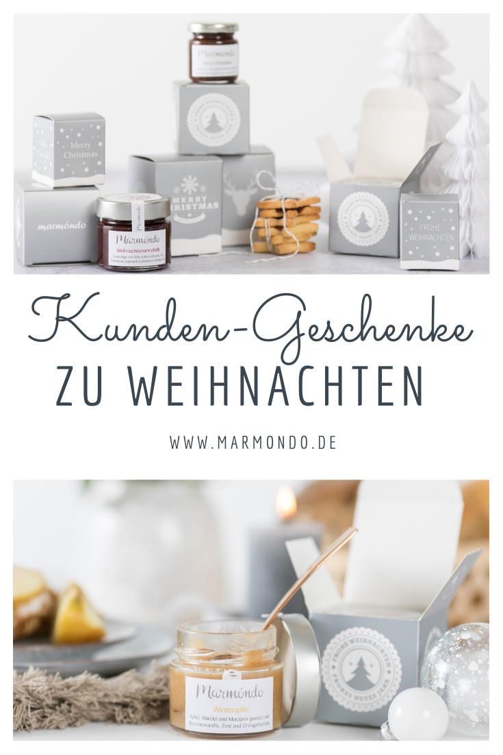 Kunden-Geschenke zu Weihnachten | marmóndo Marmeladen Manufaktur