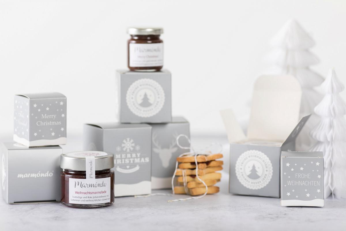 Weihnachtsgeschenke Kunden über marmóndo Marmeladen Manufaktur
